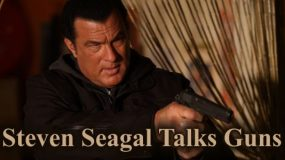 Steven Seagal Talks Guns