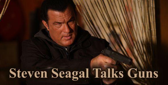 Steven Seagal Talks Guns - Tussey Custom Guns