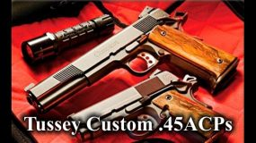 Tussey Custom .45ACPs