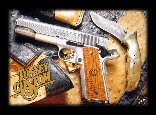 A Wolf In Sheep's Clothing: A GI-issue 1911? - Tussey Custom Guns