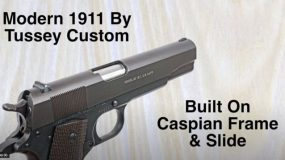 Roy Huntington takes a first look at the Tussey Custom 1911
